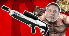 Elon Musk'ın Meşhur Alev Silahı Borderlands e'e Geliyor