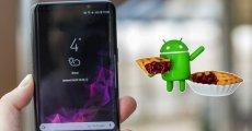 Galaxy S8 ve S8 Plus için Android Pie Yayında