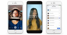 Facebook için Snapchat Benzeri Efektler Geliyor