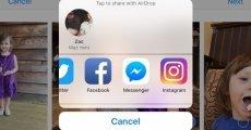 iOS için Instagram'da Yeni Paylaşma Seçeneği