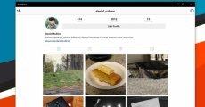 Instagram, Windows 10 PC ve Tabletler için Çıktı