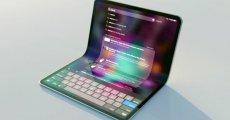 Apple Katlanabilir iPad için Kolları Sıvadı
