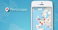 Periscope iOS Sürümü Güncellendi