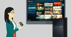 Steam, PlayStation 4 için Geldi