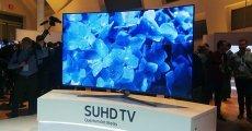 CES 2017'de Samsung'tan QLED TV Tanıtımı