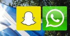 WhatsApp, Snapchat'i Geçti